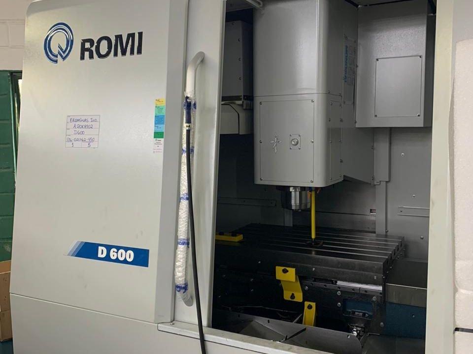 Centro de Usinagem ROMI D 600